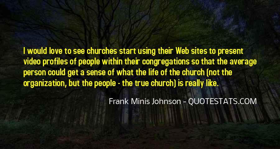 Frank Minis Johnson Quotes #1530635