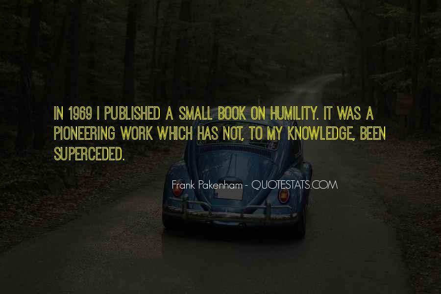 Frank Pakenham Quotes #1576297