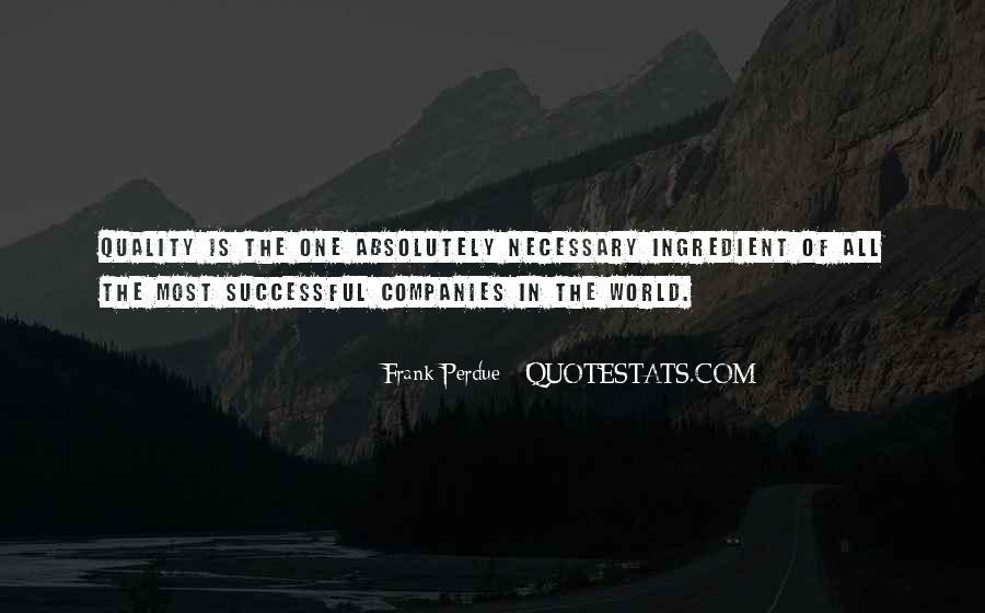 Frank Perdue Quotes #16146