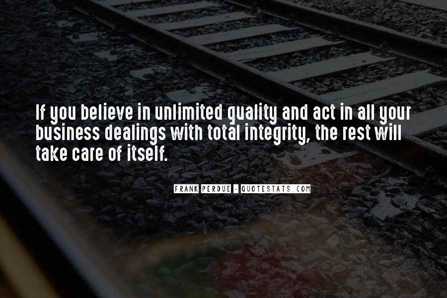 Frank Perdue Quotes #1670592