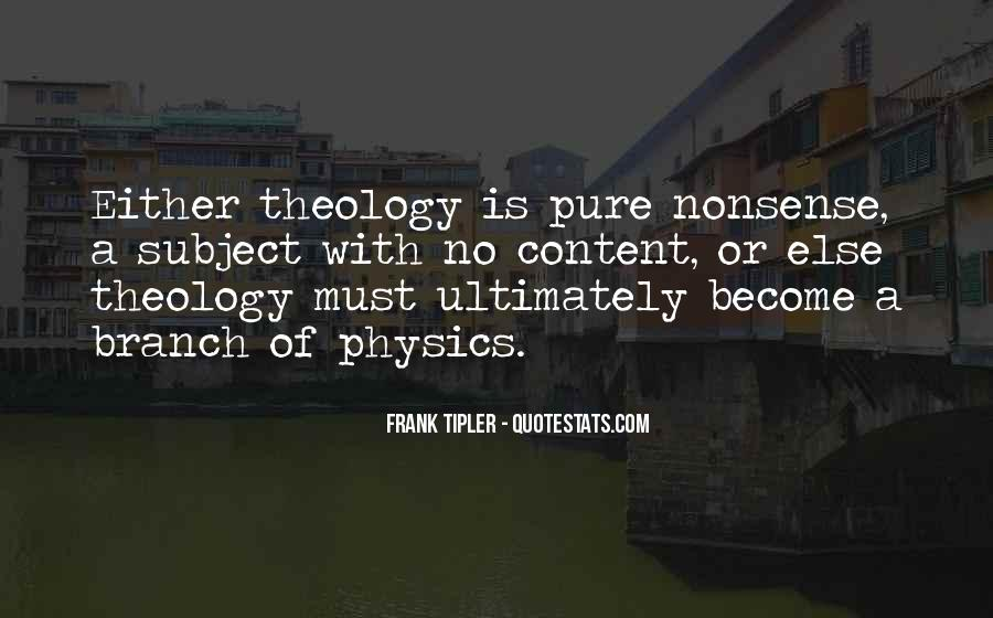 Frank Tipler Quotes #745821