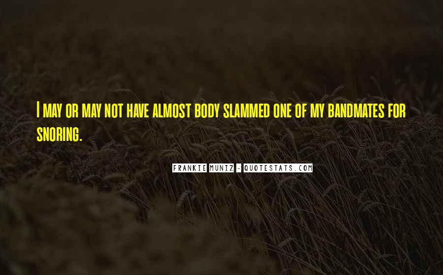 Frankie Muniz Quotes #350617