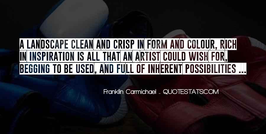 Franklin Carmichael Quotes #1013573
