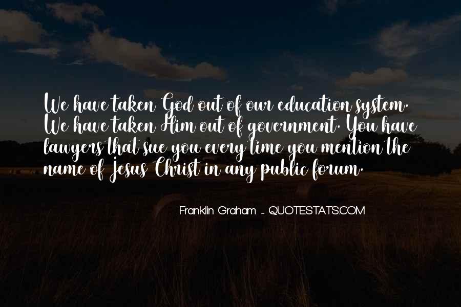 Franklin Graham Quotes #1192157