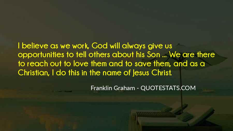 Franklin Graham Quotes #1261418
