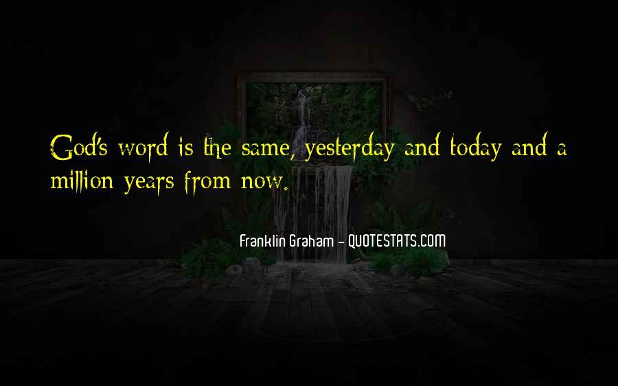 Franklin Graham Quotes #1646280