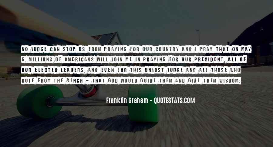 Franklin Graham Quotes #1778527
