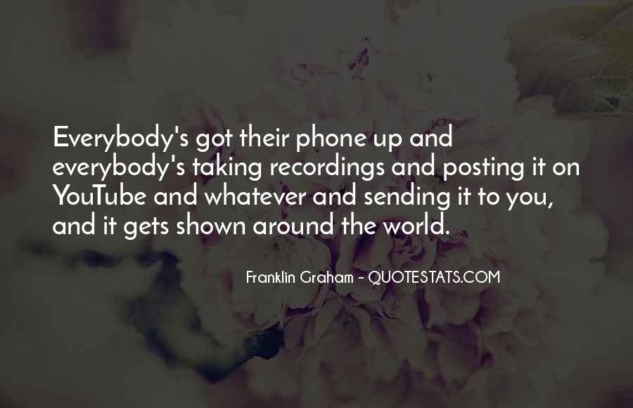 Franklin Graham Quotes #33625