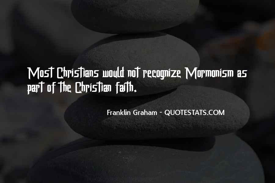Franklin Graham Quotes #526959