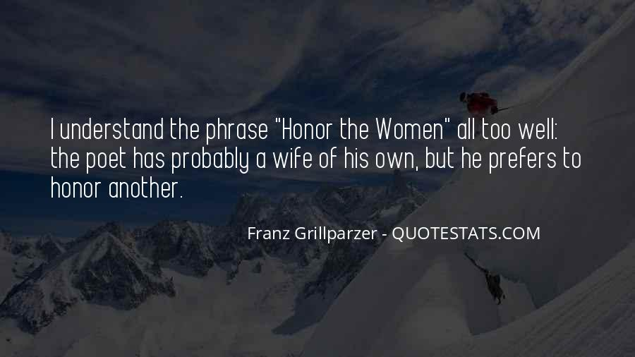 Franz Grillparzer Quotes #1343360
