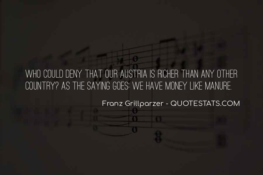 Franz Grillparzer Quotes #1494284