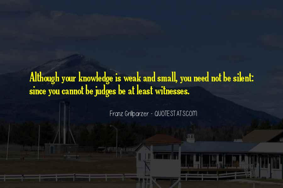 Franz Grillparzer Quotes #35857