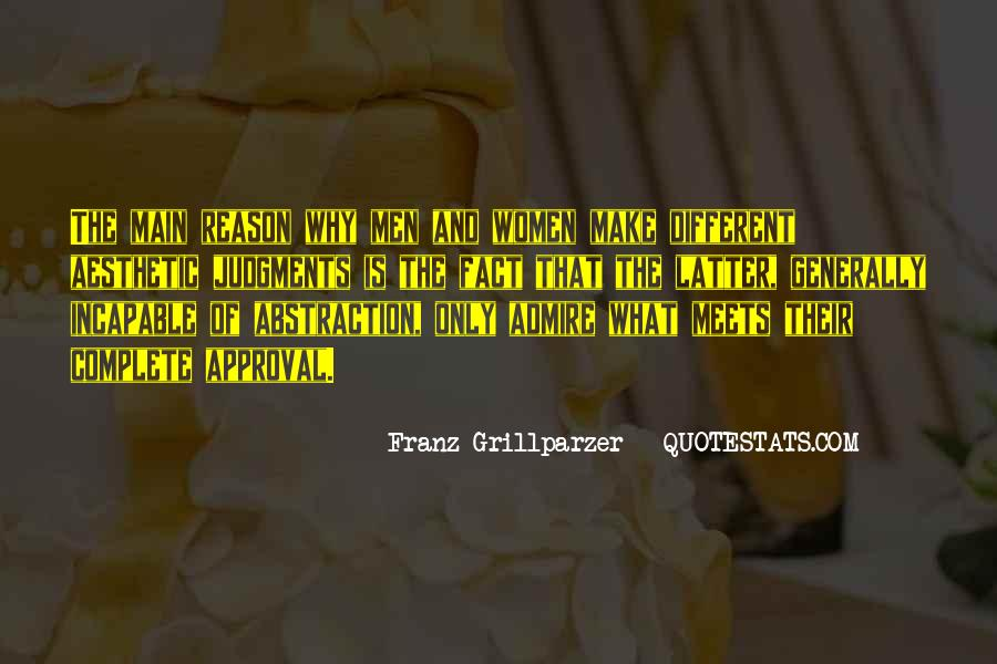 Franz Grillparzer Quotes #486635