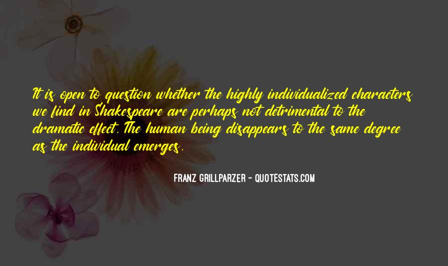 Franz Grillparzer Quotes #953803