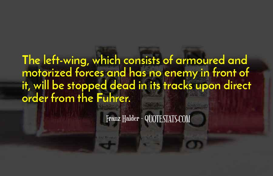 Franz Halder Quotes #190126