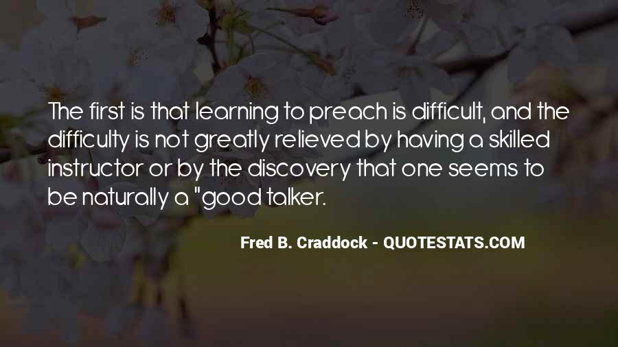 Fred B. Craddock Quotes #601299