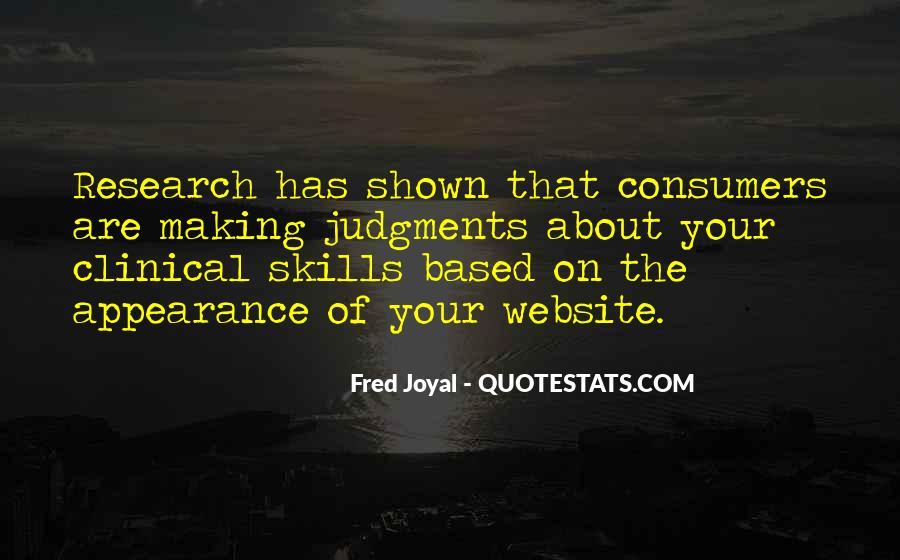Fred Joyal Quotes #795947