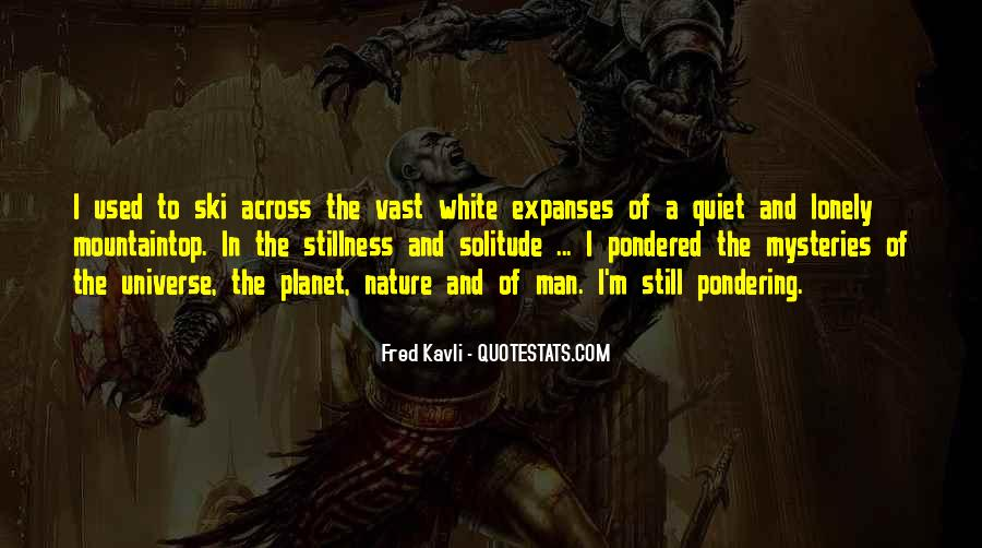 Fred Kavli Quotes #649277