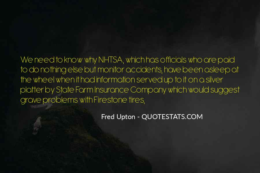 Fred Upton Quotes #590191