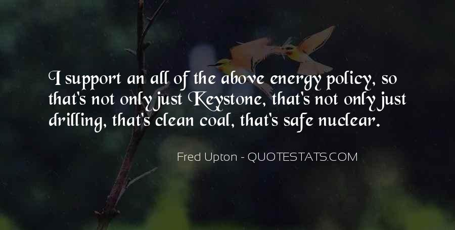 Fred Upton Quotes #841914