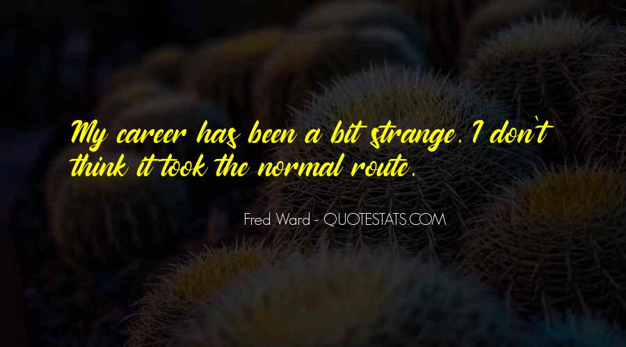 Fred Ward Quotes #328368
