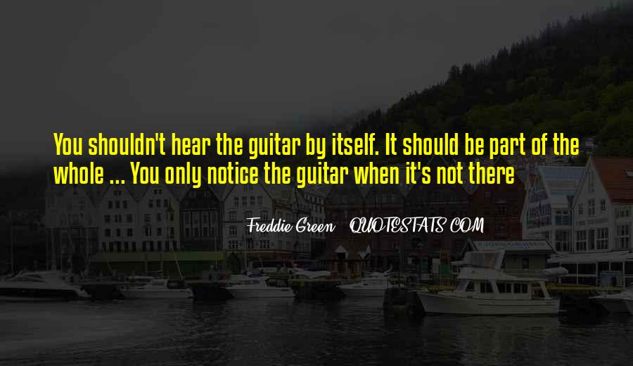 Freddie Green Quotes #1042719