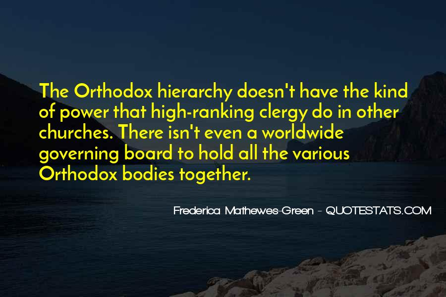Frederica Mathewes-Green Quotes #1093144