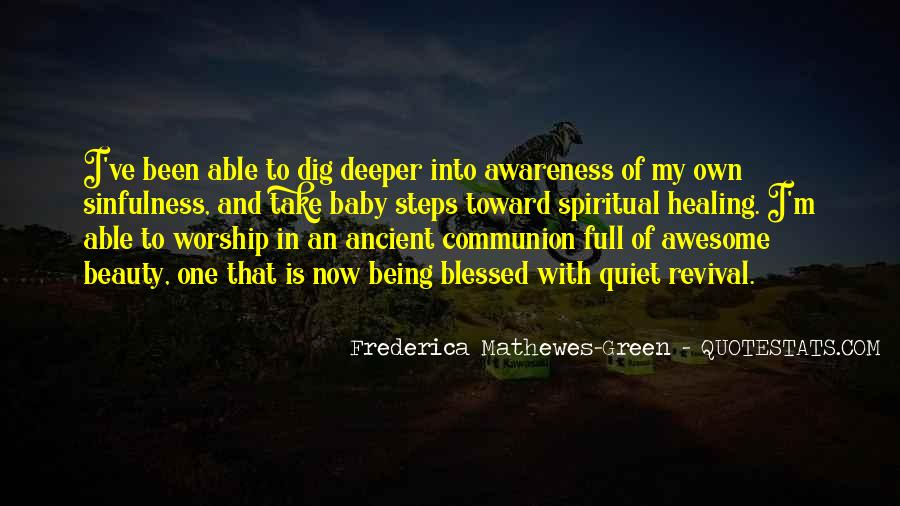 Frederica Mathewes-Green Quotes #1275356