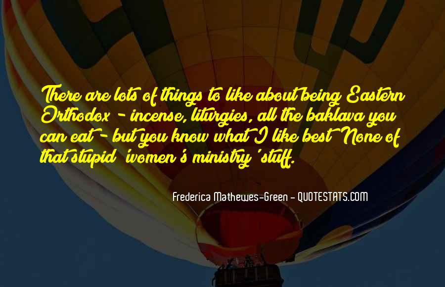 Frederica Mathewes-Green Quotes #260688
