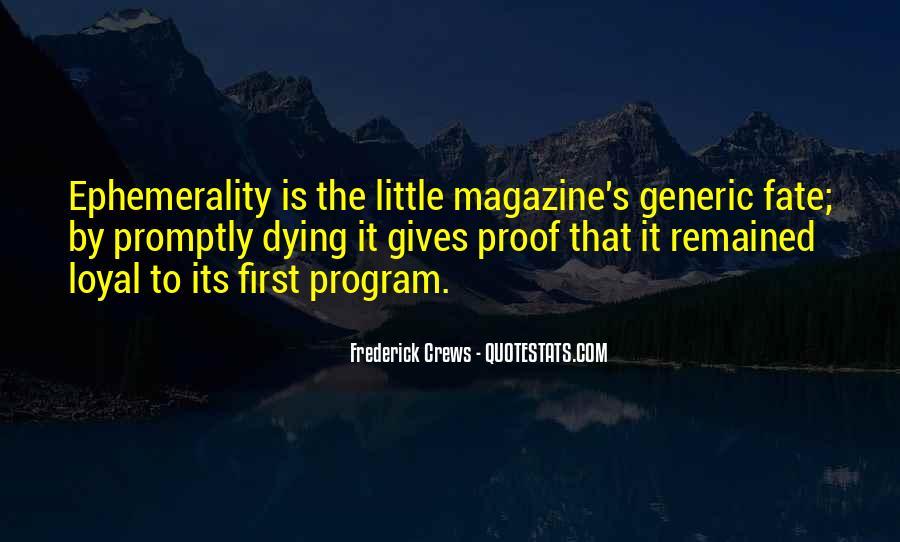 Frederick Crews Quotes #990716