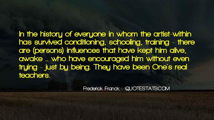 Frederick Franck Quotes #1573750