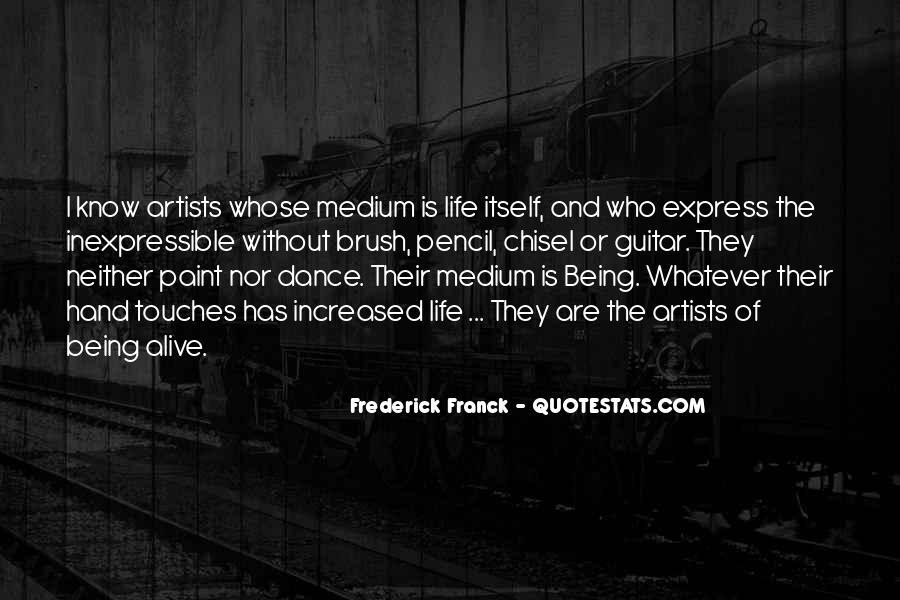 Frederick Franck Quotes #285013