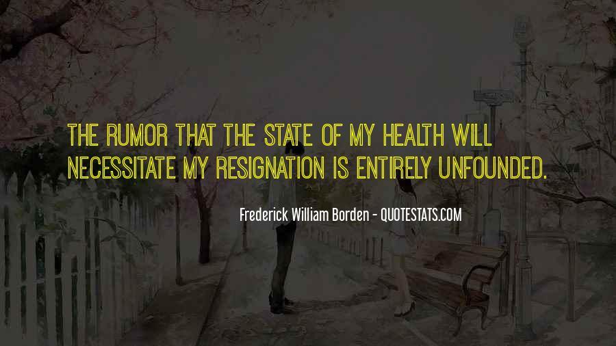 Frederick William Borden Quotes #1496731