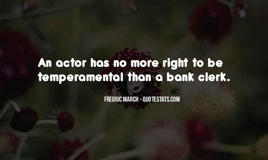 Fredric March Quotes #21613