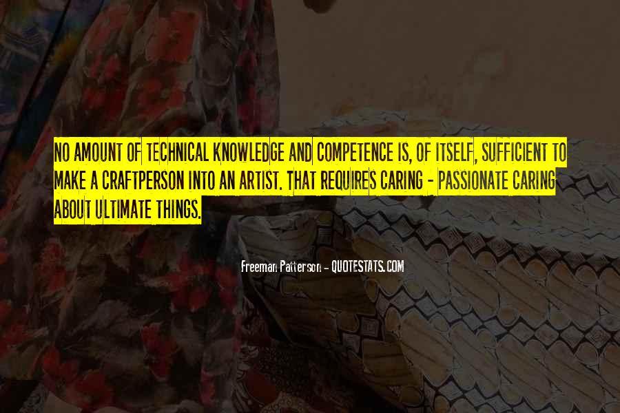 Freeman Patterson Quotes #717560