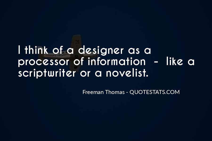 Freeman Thomas Quotes #1107188