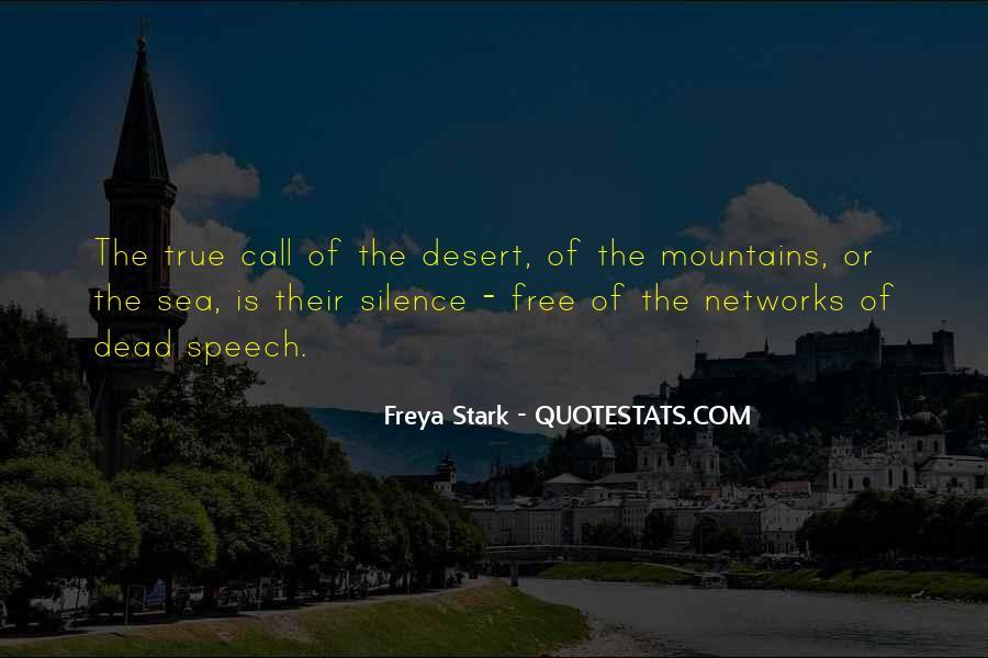 Freya Stark Quotes #130900