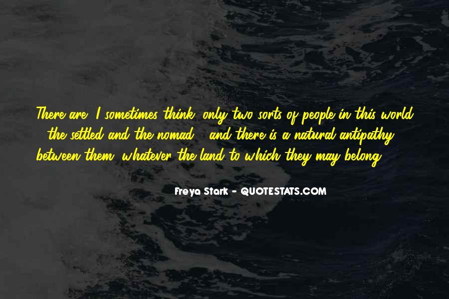 Freya Stark Quotes #822428