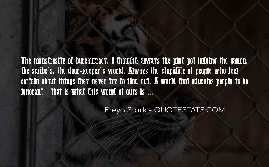 Freya Stark Quotes #894535