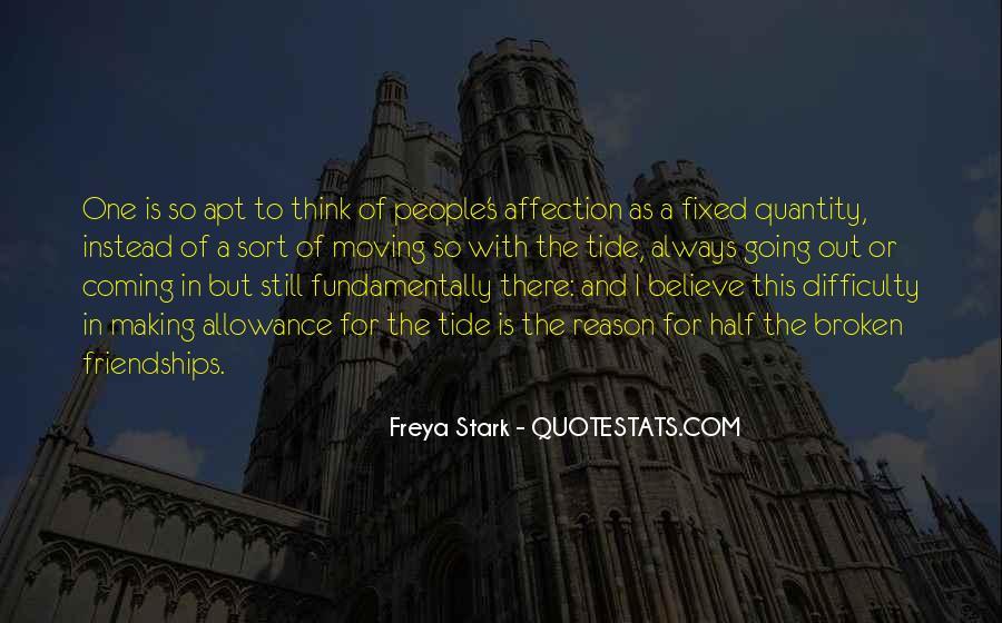 Freya Stark Quotes #907174