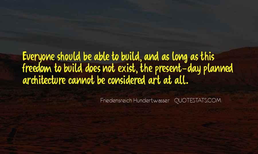 Friedensreich Hundertwasser Quotes #1043920