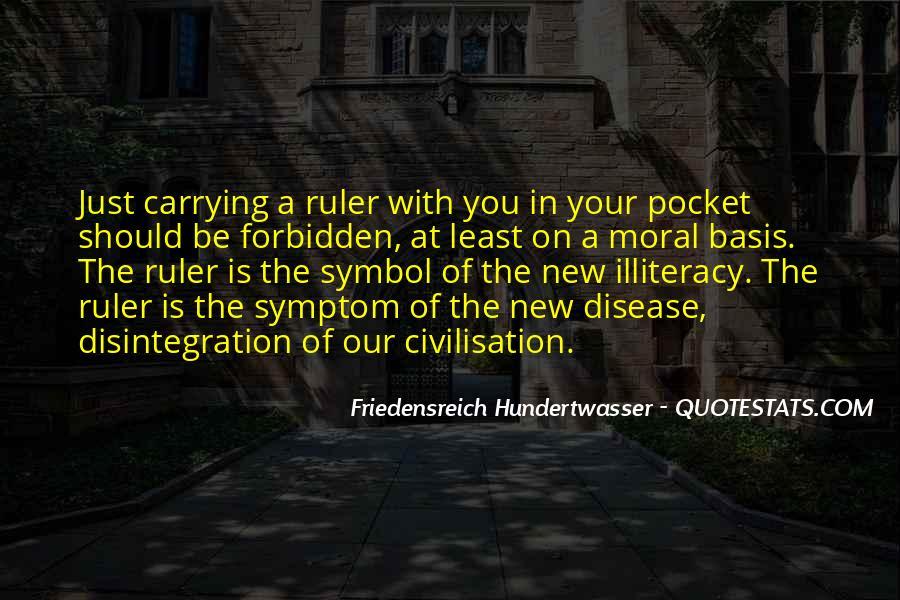 Friedensreich Hundertwasser Quotes #878610