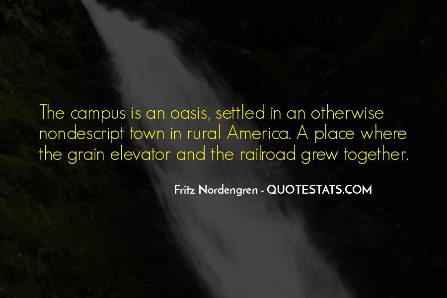 Fritz Nordengren Quotes #237506
