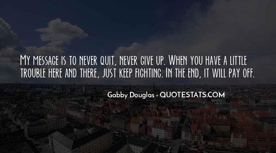 Gabby Douglas Quotes #10332
