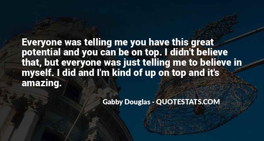 Gabby Douglas Quotes #1800718