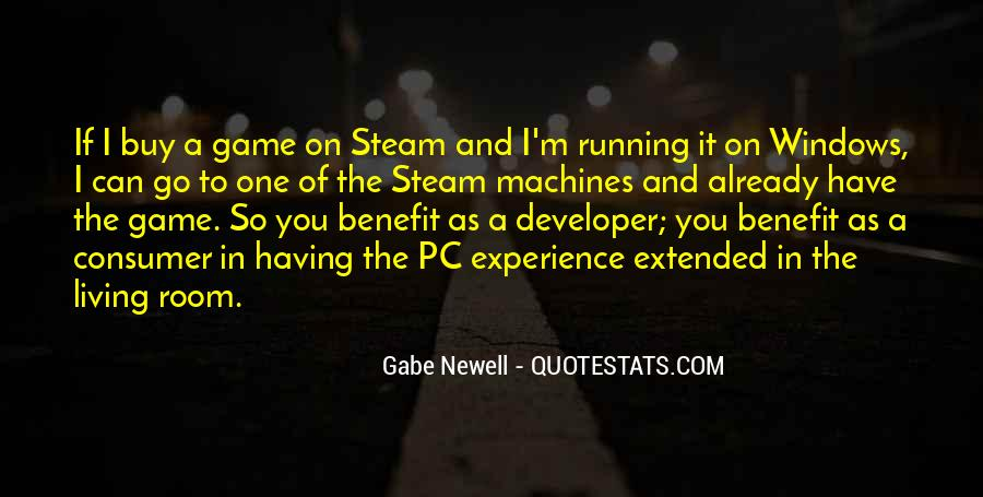 Gabe Newell Quotes #1198630