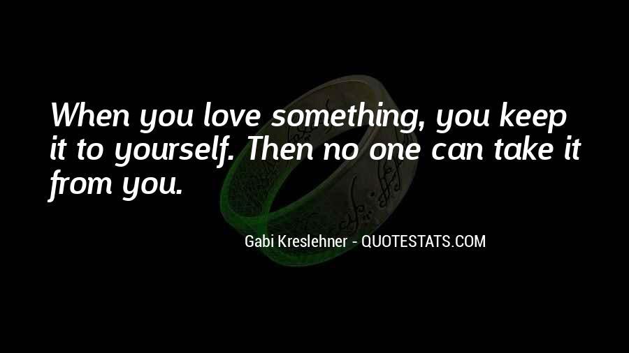 Gabi Kreslehner Quotes #1051490