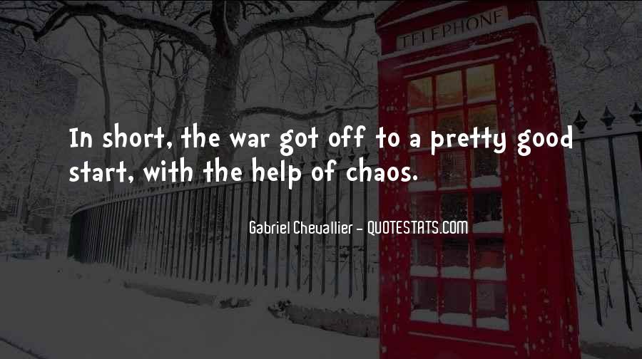 Gabriel Chevallier Quotes #1739284