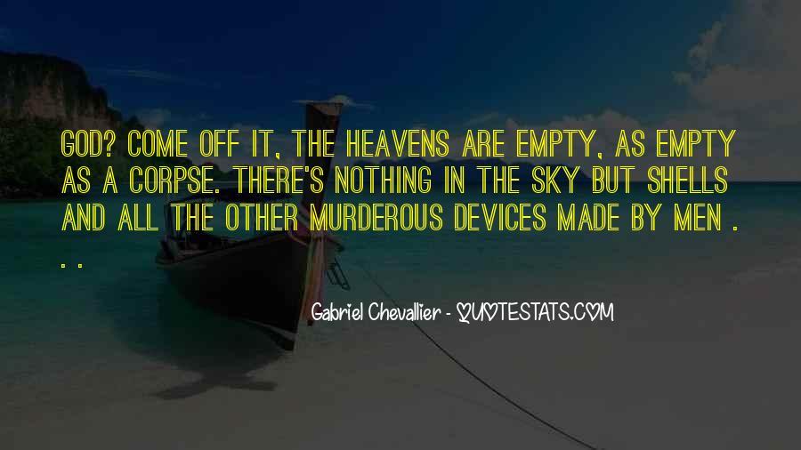 Gabriel Chevallier Quotes #413075