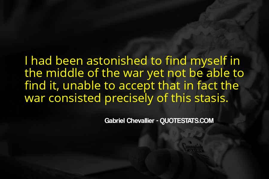 Gabriel Chevallier Quotes #604985